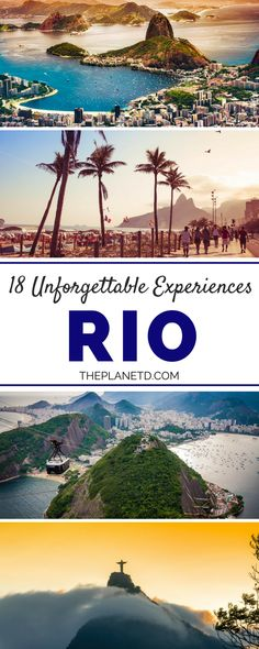 A guide to the very best things to do in Rio de Janeiro, Brazil, one of the most beautiful destinations in the world. Visit Christ the Redeemer, explore the city's beaches, take the cable car up Sugarloaf Mountain, take a Favela tour and more. Travel in South America. | Blog by the Planet D#Rio #Brazil
