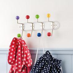 Rainbow Coat Rack - Coat Hooks - Room Accessories