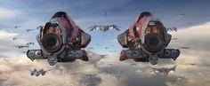 ArtStation - Guardians of the Galaxy, Andrew Hodgson