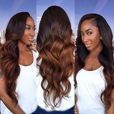 Ombre Full Lace Human Hair Wigs For Black Women Glueless Ombre Lace Front Human . Ombre Full Lace Human Hair Wigs For Black Women Glueless Ombre Lace Front Human Hair Wigs With Baby Hair Pre plucked Pretty Hairstyles, Wig Hairstyles, Black Hairstyles, Sew In Weave Hairstyles, Medium Hairstyles, Hairstyles 2016, American Hairstyles, Wedding Hairstyles, Hairstyles Pictures