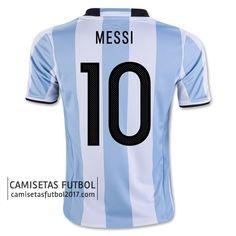 Primera camiseta MESSI de Argentina Copa América 2016 21,5€
