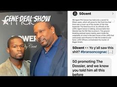 50 CENT SUPPORTS THE DOSSIER AND BIG GENE   DAMN DIDDY - YouTube Hip Hop Artists, Superstar, Hold On, Ads, Youtube, Naruto Sad, Youtubers, Youtube Movies