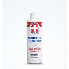 Cardinal Remedy Recovery Medicated Dog Shampoo is a penetrating therapeutic shampoo relieves itching, dryness, scaling, and other dermatitis.    Recommended for Terriers, Spaniels, Shih Tzus, Schnauzers, Shar Peis, Lhasa Apsos and dogs with skin problems.    Kills bacteria.