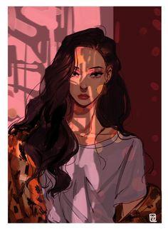 Pretty Art, Cute Art, Character Inspiration, Character Art, Art Sketches, Art Drawings, Poses References, Kpop Fanart, Anime Art Girl