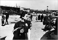 Jewish woman at the assembly point for Jews being transported to Westerbork