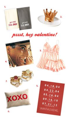 pssst...it's almost valentine's day, darling. / sfgirlbybay