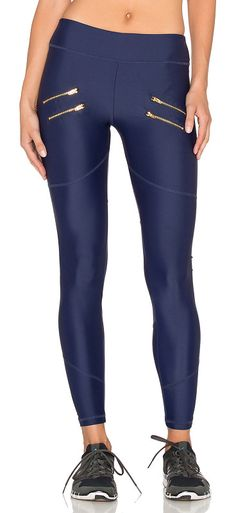 On SALE at 35% OFF! Sofia Compression Tight by Varley. 70% polyamide 30% elastane. Elastic stretch fit. Decorative front zippers. VARR-WM16. VAAW15029.