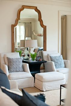 Vestavia Home - Contemporary - Living Room - Birmingham - Dana Wolter