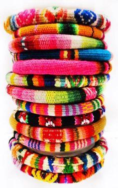 bright bracelet stack
