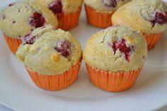 Muffins de Framboesa (Raspberry Muffins)