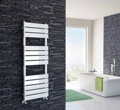 Looking for electric heated towel rails? Choose from traditional or modern electric towel rails, in floor & wall mounted electric radiator styles. Basin Sink Bathroom, Sink Taps, Electric Towel Rail, Towel Radiator, Heated Towel Rail, White Flats, Bathroom Furniture, Bathroom Accessories