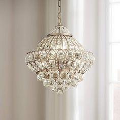 Small Chandelier Bedroom, Entryway Chandelier, Chandelier Makeover, Bedroom Lamps, Antique Brass Chandelier, Gold Chandelier, Chandelier Lighting, Crystal Chandeliers, Chandelier Ideas