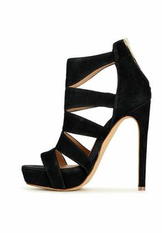 Spycee-Black-Gladiator Heels  / Steve Madden / Rs.8999