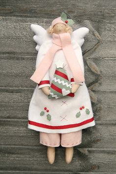 Winter angel by countrykitty, via Flickr