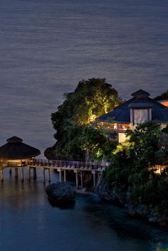 Don't miss the spectacular sunset views (and cocktails) at the hillside Solana Lounge. Shangri-La's Boracay Resort and Spa (Boracay Island, Philippines) - Jetsetter