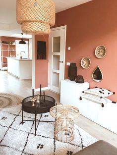Typisch Life By Iv - Alles om van je huis je Thuis te maken Home Living Room, Living Room Decor, Bedroom Decor, Bedroom Colors, Home Wall Colour, Color Walls, Bathroom Shelf Decor, Mansion Interior, Room Inspiration
