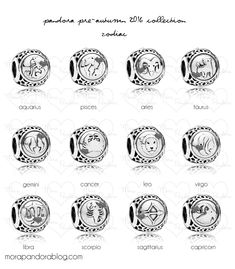 Design your own photo charms compatible with your pandora bracelets. Pandora Pre-Autumn 2016 - Signs of the Zodiac Pandora Charms Disney, Pandora Beads, Pandora Bracelet Charms, Pandora Rings, Pandora Jewelry, Charm Bracelets, Leather Bracelets, Silver Bracelets, Bangle