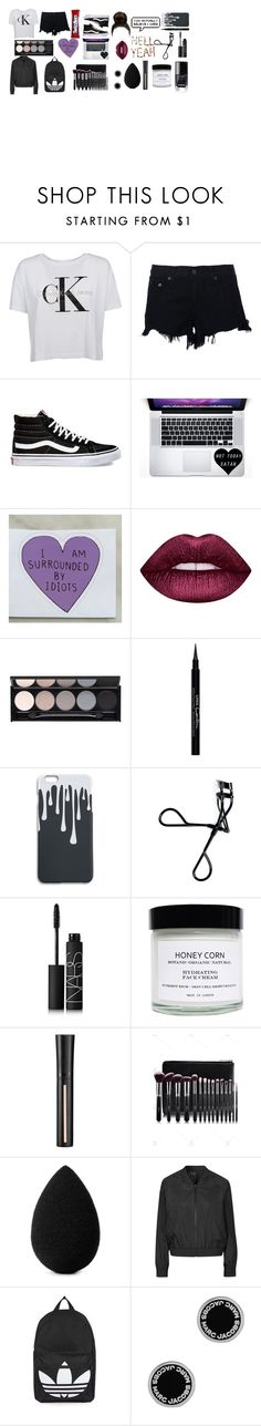 """Untitled #42"" by theimperfect-perfection ❤ liked on Polyvore featuring Calvin Klein, rag & bone, Vans, Lime Crime, Witchery, Givenchy, Bobbi Brown Cosmetics, NARS Cosmetics, Honey Corn and Giorgio Armani"