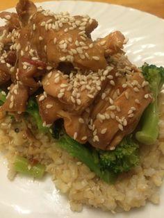 Sesame Chicken! #glutenfree #dairyfree