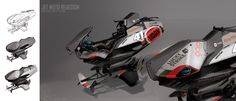 ArtStation - Jet Moto concept 03, Ian Galvin