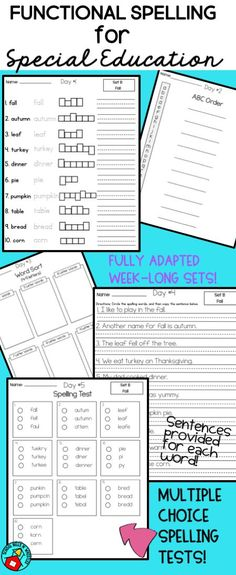 Whats In Label In Special Ed Words >> 6166 Best Middle High School Special Education Classroom Resources