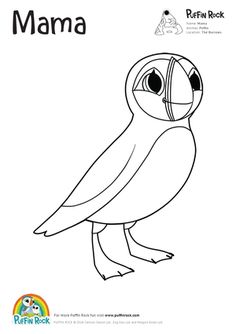 Free Puffin Rock colouring sheets | printable activities ...