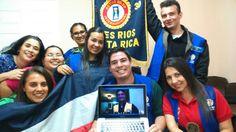 Presentación del Plan al Club Activo 20-30 de Tres Ríos - Presenting the Plan to the Active 20-30 Tres Ríos Club
