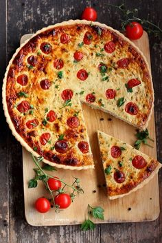 Vegetable Recipes, Vegetable Pizza, Easy Cooking, Cooking Recipes, Quiche, Baby Food Recipes, Healthy Recipes, Good Food, Yummy Food
