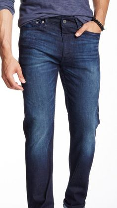 Levi's 513 Slim Straight Fit Men's Luxurious Distressed Jeans Size 32 X 32 NWT #levis #ClassicStraightLeg