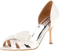 Badgley Mischka Women's Vita Peep-Toe Pump $99.99 #pumps #fashion #shoes #for #women #maddengirl #envy #badgley #ninewest #ivanka #jessicasimpson #stevemadden #flats #sneakers #heels #boots #slippers #style #sexy #stilettos #womens #fashion #accessories #ladies #jeans #clothes #minkoff #lowprice #branded #brands