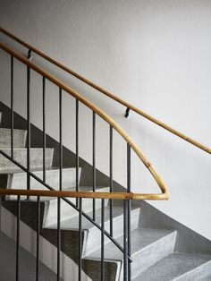 stairwell. Railings, Hallways, Ideal Home, Entryway, Stairs, Rooms, House Design, Interior Design, Architecture