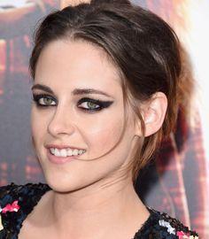 As maquiagens com Cat Eyes de Kristen Stewart