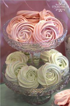 pretty meringues