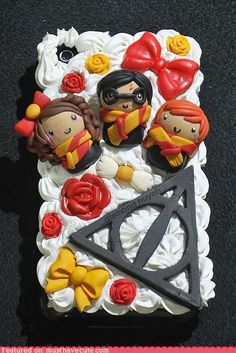 Deathly Hallows iPhone case................SHUT UP AND TAKE MY MONEY! LOL