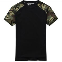 Man Casual Camouflage T-shirt Men Cotton Army Tactical Combat T Shirt Military Sport Camo Camp Mens T Shirts Fashion 2016 Tees  EUR 17.55  Meer informatie  #aliexpress