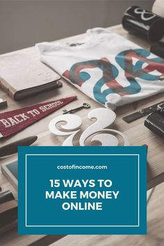 In this post I will share 15 ways how to make money from home, make money online, ways to make money from home make money fast and much more! #makemoney #online #onlinemoney #moneyfromhome Make Money Fast, Make Money Blogging, Make Money From Home, Make Money Online, Fathers Day Gifts, Gifts For Dad, Positivity Blog, Gap Year, Practical Gifts