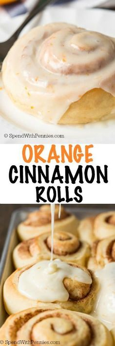 These light and fluffy Orange Cinnamon Rolls are the perfect way to celebrate the holidays with your family this year. A light and fluffy homemade orange infused cinnamon roll smothered in an amazing orange glaze.
