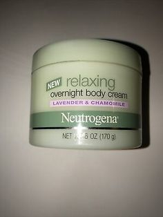 Neutrogena Relaxing Overnight Body Cream Lavender & Chamomile Retired Rare New | eBay Dry Body Brushing, Beauty Solutions, Nude Makeup, Hcg Diet, Beauty Must Haves, Adrenal Fatigue, Body Scrubs, Skin Firming, Girl Body