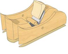Make a High-Angle Smoothing Plane - The Woodworkers Institute