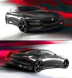 The Buick Avista Concept Is A Badass 400 HP RWD Luxury Muscle Car