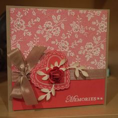 I love lace, Stampin Up!