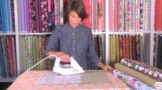 Tutorial para plastificar telas y hacer un mantel individual de Jan