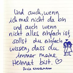 """from my new book / audio book """"I don& know if that& love .- aus meinem neuen Buch/Hörbuch """"Keine Ahnung, ob das Liebe ist"""" ❤️💔, übe… from my new book / audio book """"No idea whether this is love"""" ❤️💔, available everywhere - Words Quotes, Me Quotes, Sayings, More Than Words, Some Words, German Quotes, Romantic Mood, Magic Words, Quote Prints"""