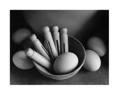 """Eggs and Pegs © Andrew Sanderson """"Photographed in my mother-in-law's house during my 'home photography' period.  At that time I was looking for pictures in ordinary situations"""""""