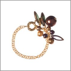 Pearl & Spike Bracelet by GemVault on Etsy