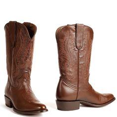 Cowboy boots heren Classic Mahogany Glased Boots bruin (Men)