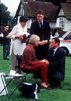 Midsomer Murders - Painted in Blood - Jane Wymark, as Joyce Barnaby, had a larger role. I always thought that she should have had larger roles.