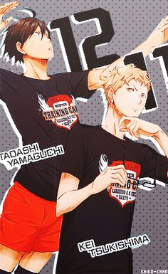 Haikyuu!! One of the best animes ever!! Srsly watch it if you haven't!
