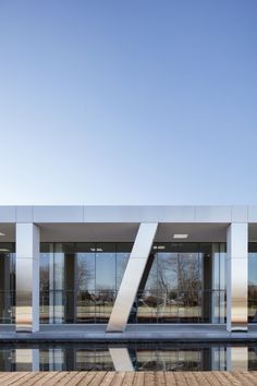 Image 5 of 28 from gallery of Diane Dufresne de Repentigny Art Center / ACDF Architecture. Photograph by Adrien Williams Residential Architecture, Contemporary Architecture, Art And Architecture, Diane Dufresne, Retail Branding, Architecture Magazines, Photos, House Design, Building