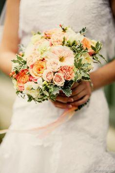 Wedding bouquet David austin roses Флорист: Ангелика Милевская FLORENTINO
